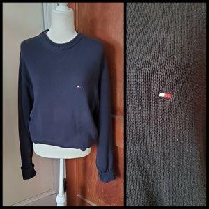 VINTAGE Tommy Hilfiger oversized logo sweater